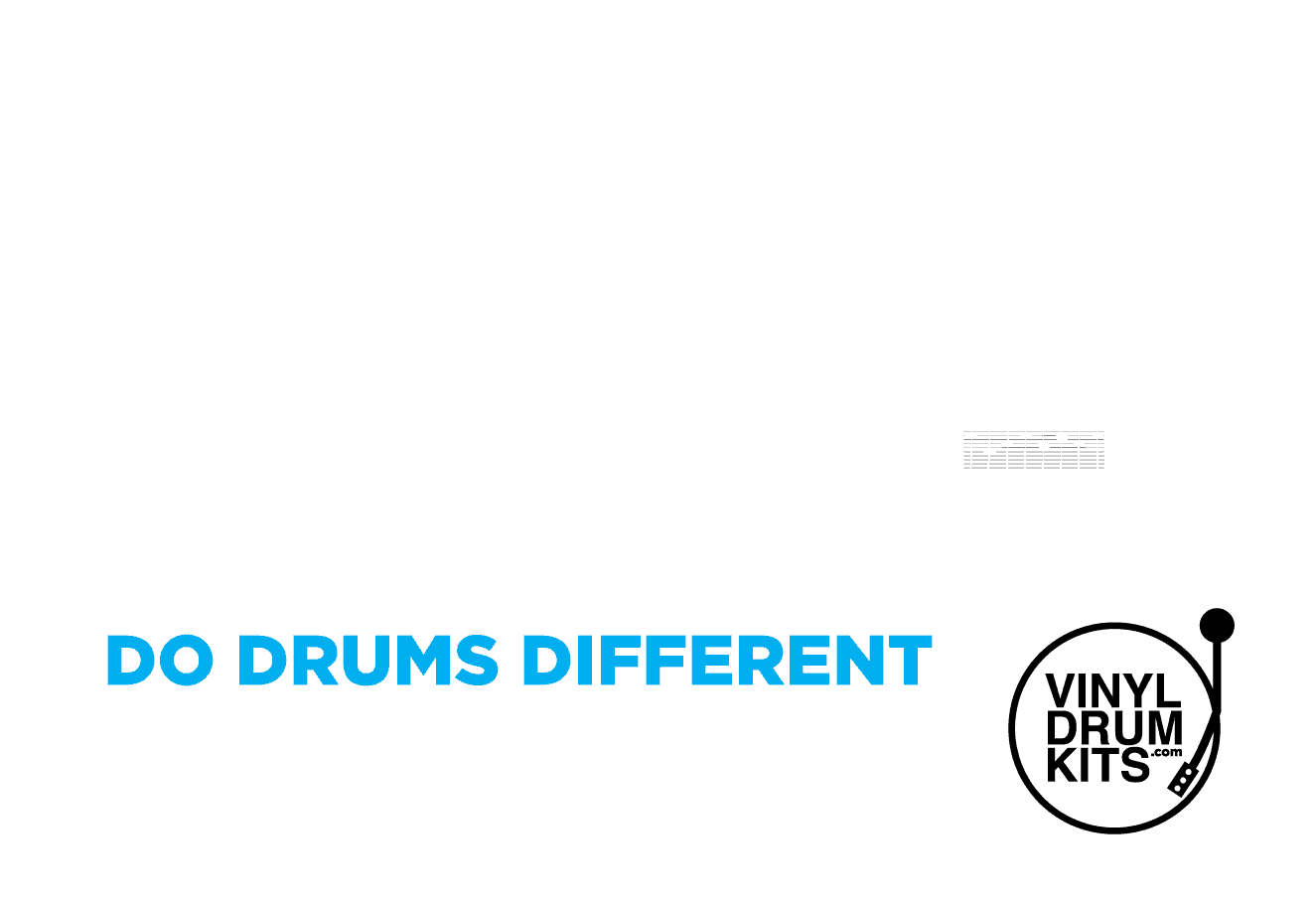 Vinyldrumkits Com Do Drums Different